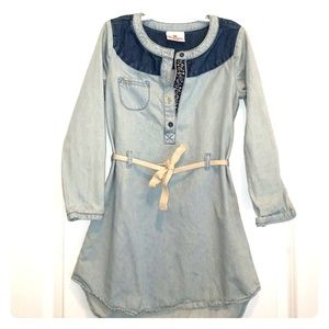 Hanna Andersson girls denim dress